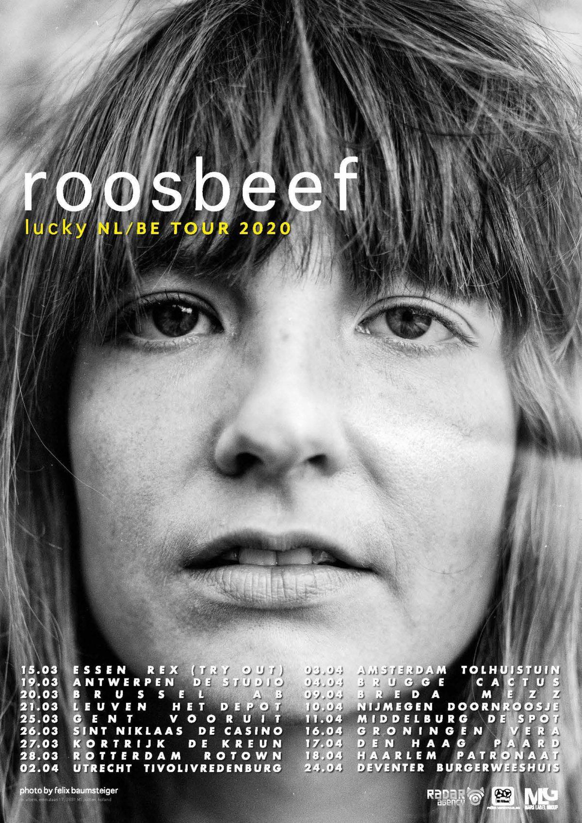 ROOSBEEF kondigt nieuw album aan een nieuwe single...